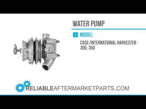 2971 364852R92 New Case IH Tractor Water Pump 300 & 350 Farmall ...