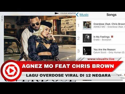Lagu Agnez Mo Feat Chris Brown Overdose, Tembus Chart Musik Viral Di 12 Negara