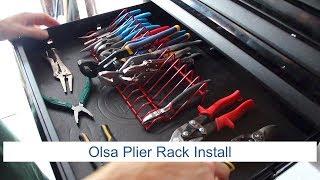 Olsa Plier Rack Setup | Organize MOST of your pliers!