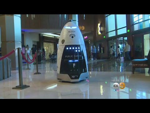 Only On 9: New Security Guards At Pechanga Are A Bit Robotic