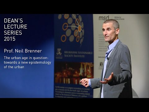 Dean's Lecture Series 2015 - Prof. Neil Brenner