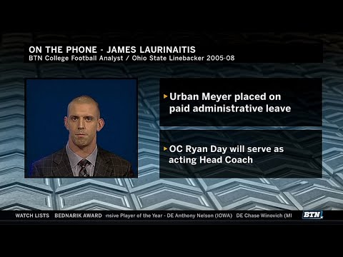 James Laurinaitis Reacts to Ohio State News | BIg Ten Football