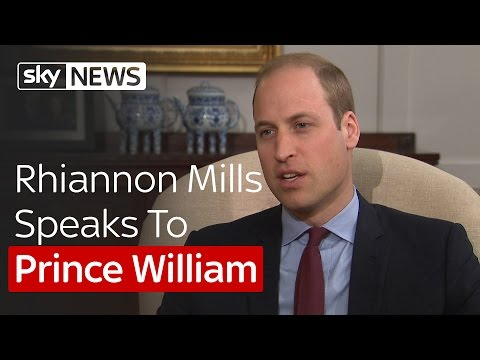 Rhiannon Mills Speaks To Prince William