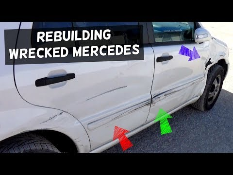 BUYING MERCEDES FROM COPART AND RESTORING IT