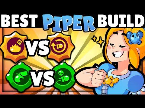 NEW Gadget & BEST Build for PIPER!   Gadget & Star Power Tier List