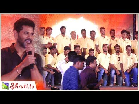 'Prabhu Deva' launches the Anthem of 'TUTI PATRIOTS' | Dinesh Karthik, Abhinav Mukund