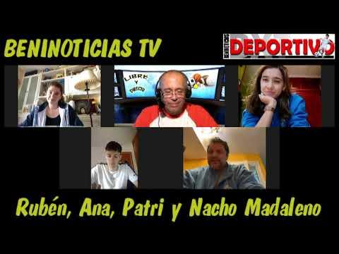 Vídeo entrevista con Rubén, Ana, Patri y Nacho Madaleno, del Club Voleibol Playas de Benidorm