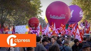 Manifestation unitaire interprofessionnelle (9 octobre 2018, Paris)