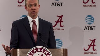 Alabama AD Greg Byrne: Greg Goff is no longer Alabama