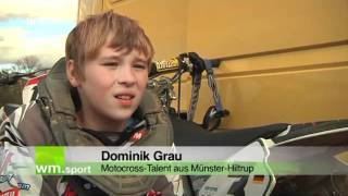 Blickpunkt Nachwuchs: Motorcross Talent Dominik Grau