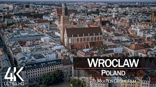 【4K】Wroclaw from Above 🔥 POLAND 2021 🔥 Cinematic Wolf Aerial™ Drone Film