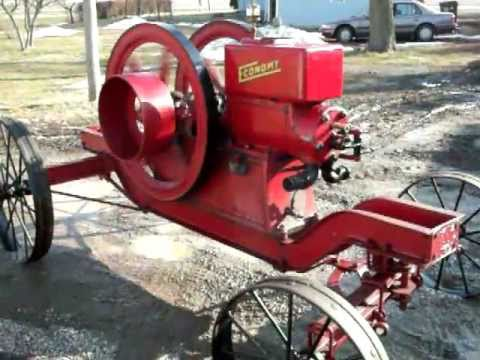 7hp Economy Hit and Miss Old Gas Engine