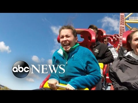 Ohio Professor Uses Roller Coasters to Help College Students Face Fears