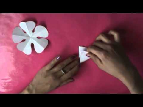 Como Hacer Flores De Papel Perfectas Youtube