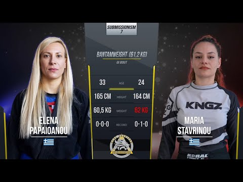 Submissionism 7: Elena Papaioanou vs. Maria Stavrinou Full Fight