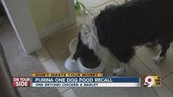 Purina ONE dog food recall