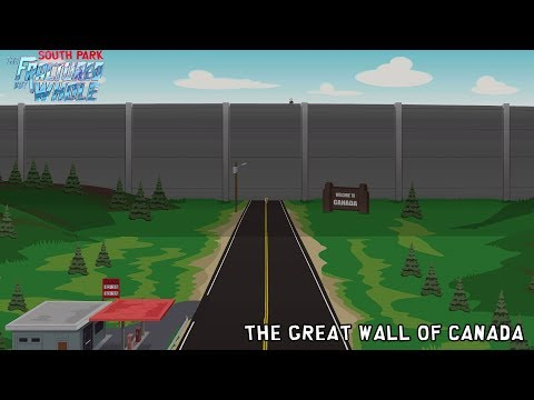 South Park The Great Wall of Canada from YouTube · Duration:  53 seconds