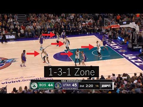 Celtics Zone vs. Jazz Zone - Who Did It Better?