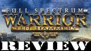 PC GAME REVIEW: Full Spectrum Warrior: Ten Hammers
