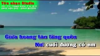 Chân tình - karaoke