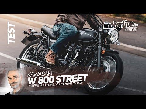 KAWASAKI W 800 STREET | TEST MOTORLIVE