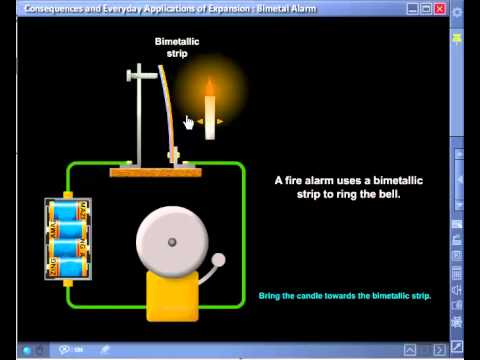 Bimetal Fire Alarm Simulation - Amazingedu Software