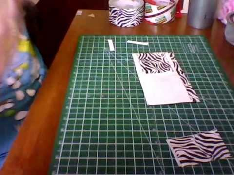 How to make a duct tape wallet ( ID and Pockets)