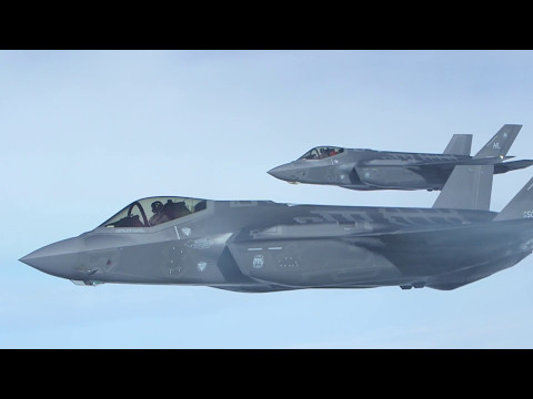 F-35A first deployment to Bulgaria - B-Roll