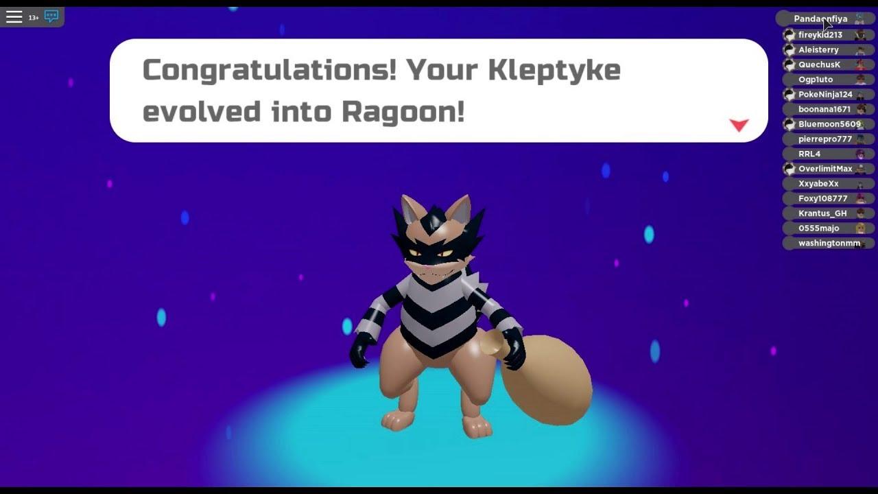Kleptyke Evolving To Ragoon Slap Down Move Set Loomian Legacy