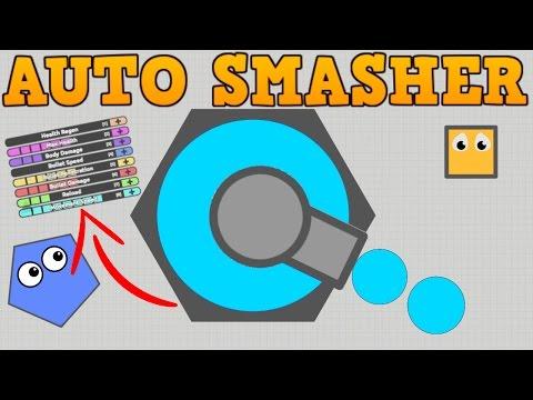 SECRET DIEP.IO AUTO SMASHER TANK!! // New Max Upgrades // Finding Best Build
