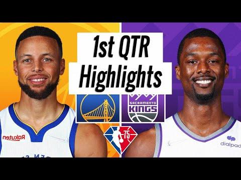 Golden State Warriors vs. Sacramento Kings Full Highlights 1st Quarter   NBA Season 2021-22