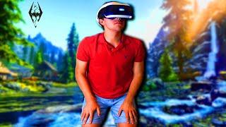 Spending 24 Hours In VR Skyrim