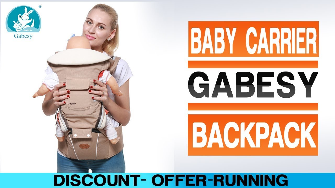 093307d116f Gabesy ergonomic baby carrier and baby sling backpack