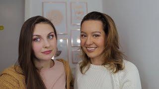 Lekcja makijażu dla Patki + nowości IUNO :) - Czarszka -