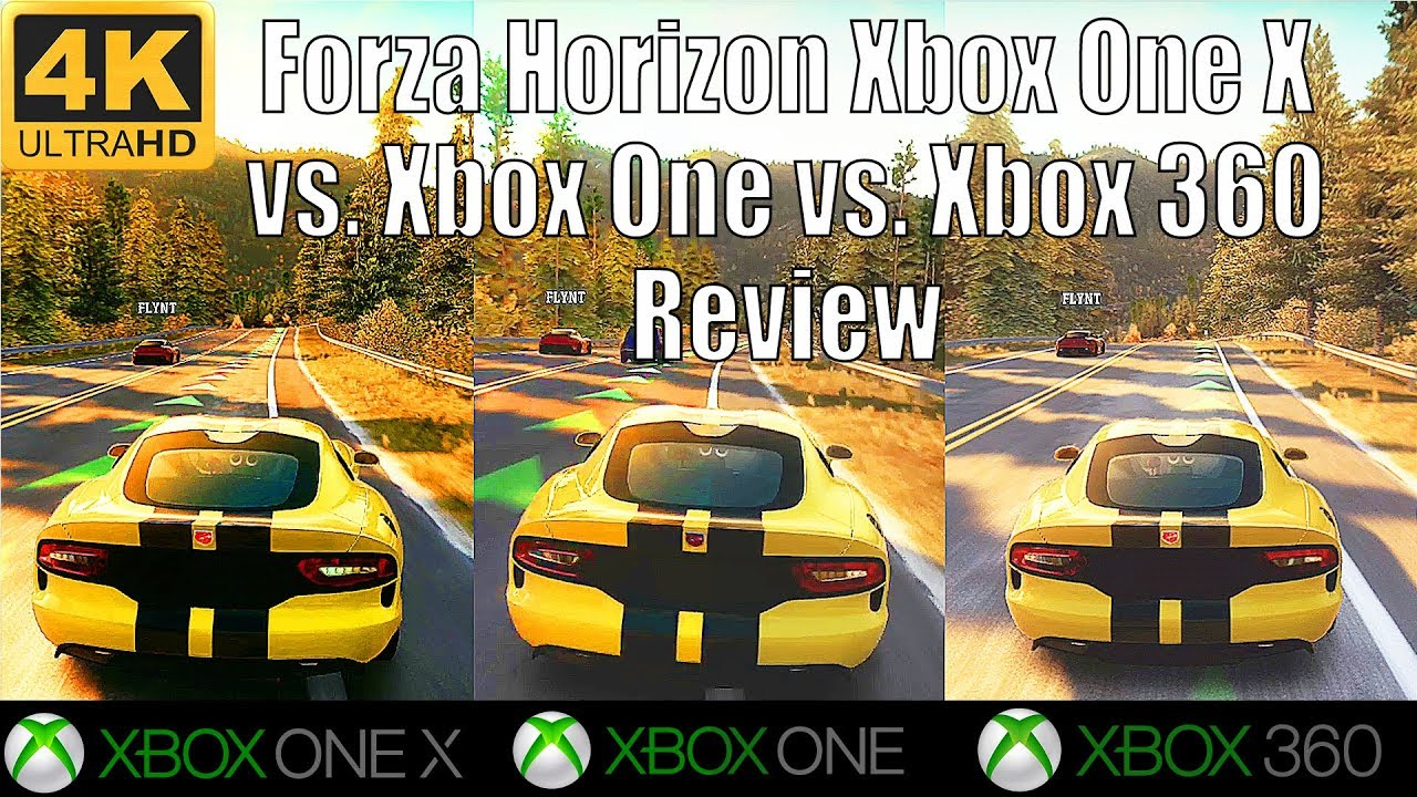 4k forza horizon review xbox one x vs xbox one vs xbox. Black Bedroom Furniture Sets. Home Design Ideas