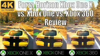 [4K] Forza Horizon Review | Xbox One X vs Xbox One vs Xbox 360 | Forza Horizon Xbox One x Enhanced