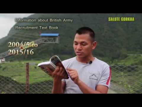 Gurkha Recruitment Text Book (British Army Recruitment Text Book for British Army Trainee)