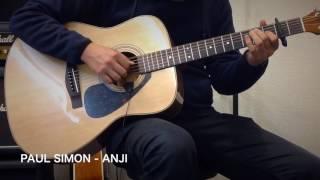 サムピックを使用せずAnji弾いてみました。 簡単な曲解説はこちら:http...