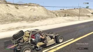 GTA 5 Dune Buggy FAV (GunRunning Agent 14 MISSION)