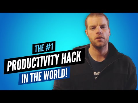 The #1 Productivity Hack In The World!