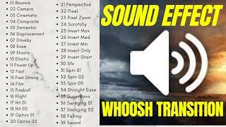 Whoosh Transition Sound Effect I Paling Banyak Digunakan 2020 I +Link Download Free