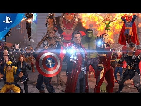 Marvel Heroes Omega - Announce Trailer | PS4