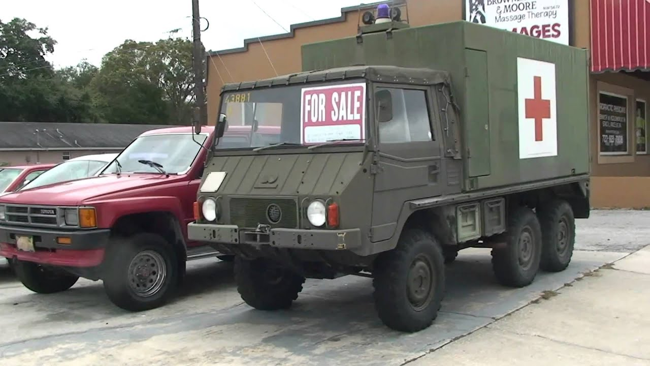 Army Vehicles For Sale >> Diesel Swiss Army Truck For Sale Youtube