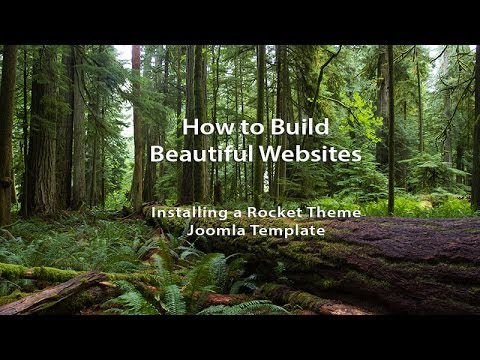 How To Build Beautiful Websites With Joomla And Rocket Theme Templates - Part 2