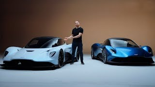 NEW Aston Martin Vanquish and AM-RB 003 - Aston's Ferrari Killers? | Top Gear