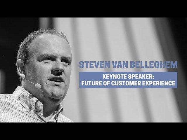 Keynote speaker Steven Van Belleghem on Customer Experience / Best scenes from 2018