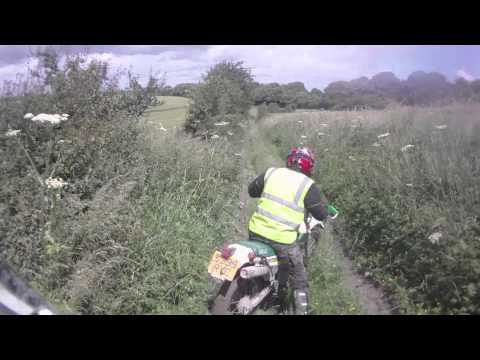 A Ride Through the Green Roads of Wiltshire and Hampshire (CRF450X, 29.06.12)