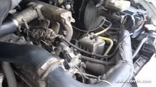 Холодный запуск Mercedes Sprinter 2.9 с зажатыми гидрокомпенсаторами и после их торцевания(, 2015-02-28T16:46:32.000Z)