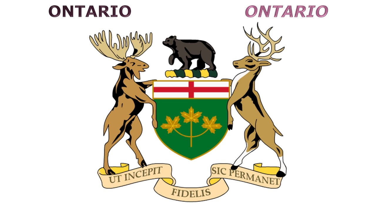 coats of arms of canadian provinces and territories znaky