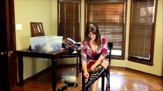 Repeat youtube video OOTD Crossdressing Intruder Bondage Fantasy - Part 1